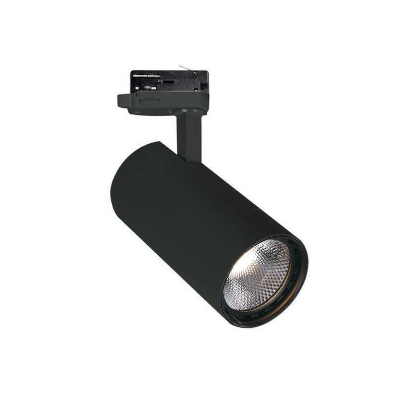 3PH ŠVIESTUVAS NESTOR 10W LED BLACK