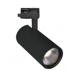3PH ŠVIESTUVAS NESTOR 30W LED BLACK