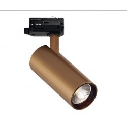 3PH ŠVIESTUVAS NESTOR 30W LED GOLD