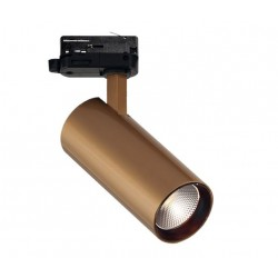 3PH ŠVIESTUVAS NESTOR 15W LED GOLD