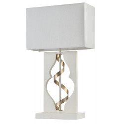 Table Lamp Maytoni Intreccio White with Gold ARM010