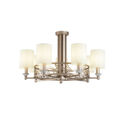 Chandelier Maytoni Vittoria Cream with Gold H004CL
