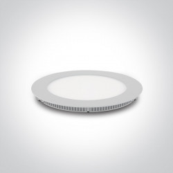 LED panelė įleidžiama Super Slim One Light 10118FA/W/C