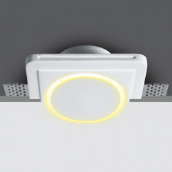 GYPSUM LED 2,5W WW IP44 100-240v