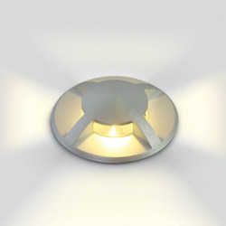 ALUMINIUM IP67 INGROUND LED 3W WW 100-240V