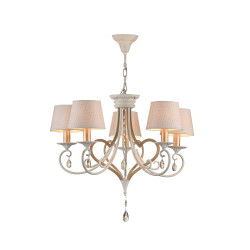 Chandelier Maytoni Enna White with Gold ARM548