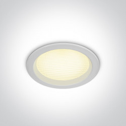 Šviestuvas įleidžiamas One Light Fixed LED 10110U/W/W