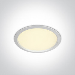 Šviestuvas įleidžiamas One Light Fixed LED 10124U/W/W