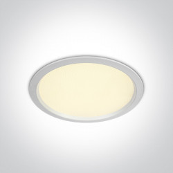 Šviestuvas įleidžiamas One Light Fixed LED 10130U/W/W
