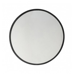 Veidrodis Gallery Direct Higgins Round Mirror Black 5059413256653